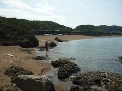 米山海水浴場1