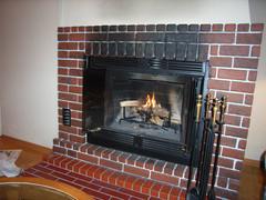 暖炉付きコテージ