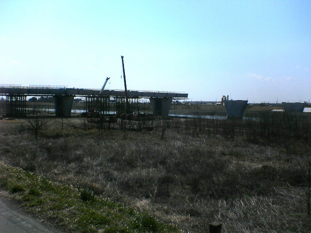北関東道の橋脚