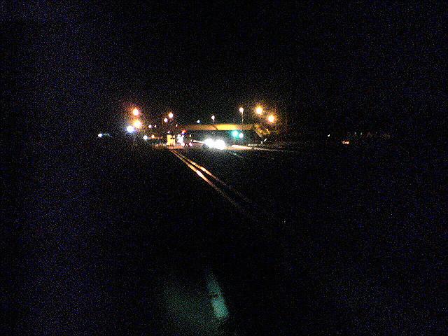 夜の上武国道